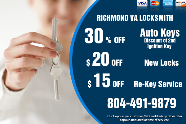 Richmond VA Locksmith Coupon